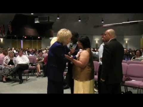 Prophet Glenda Jackson at New Life Church in Houston Texas 3-31-2013 part 1 of 2