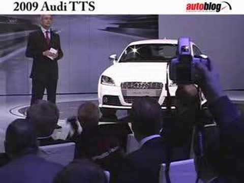 Audi TTS unveiled at Detroit Auto Show