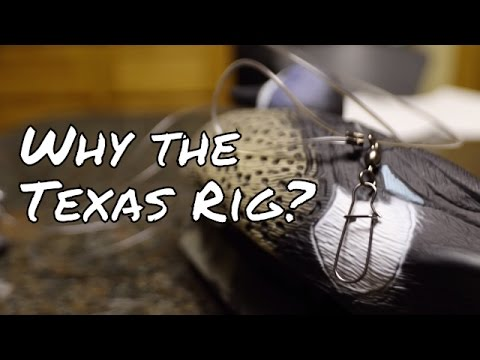 Why use the Texas Rig for duck decoys