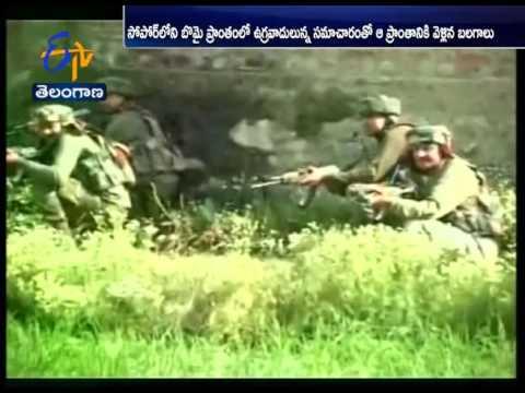 J&K Encounter: Fierce Gun Battle in Sopore District, 2 Militants Killed