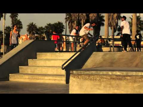 CHRISS HARRIS AND DUSTY - Tricks of the Day! - Venice Skatepark