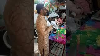 Shadnagar Congress youth icon Aleem bhai speech at party office in Shadnagar