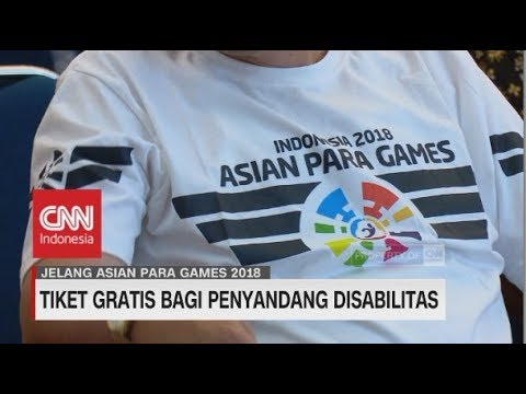 download lagu Tiket Gratis bagi Penyandang Disabilitas | Asian Para Games 2018 gratis