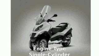 2008 Piaggio MP3 Three Wheeler 400 Specification and Review - motosheets