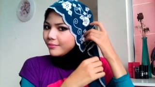 #2 - Simple Yet Elegant Hijab Tutorial