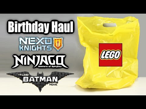 LEGO Birthday Haul 2016!