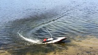 RC Offshore Raceboat Trial - Testing this speed boat