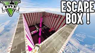 ESCAPE BOX - MEGA PUZZLE PARCOUR (GTA 5 Online)