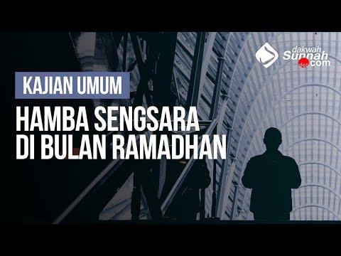 Hamba Sengsara Di bulan Ramadhan - Ustadz Ahmad Zainuddin Al - Banjary