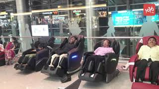 Hyderabad Airport First to Have Wheel Chair Lifts in India | Shamshabad Airport  CHANNEL