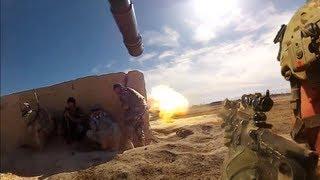 AT-4 Rocket Hits Taliban Ambush Position During Firefight