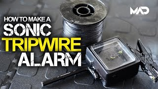 How to make a SONIC TRIP-WIRE ALARM