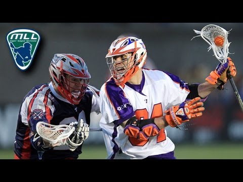 MLL Week 2 Highlights: Hamilton Nationals at Boston Cannons