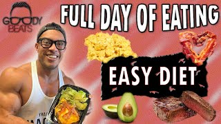 4 SIMPLE MEALS TO EAT IN A DAY (EASY LOW CARB DIET)