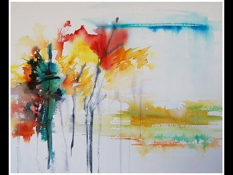 Abstract Landscape Paintings Paint an Abstract Landscape in