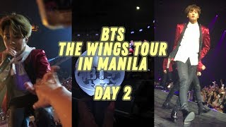 JM held my hand, JK noticed me, and #1 in soundcheck //170507// BTS TWT in MNL Day 2!!
