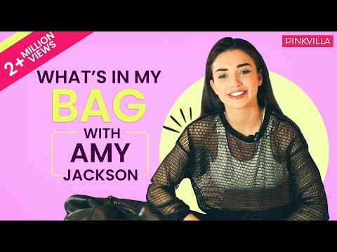 What's in my bag with Amy Jackson | Pinkvilla | S01E02 | Bollywood | Lifestyle thumbnail