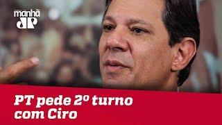 PT pede 2º turno com Ciro, mas especialista diz não haver possibilidade jurídica
