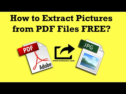 how to produce an extract from a pdf file