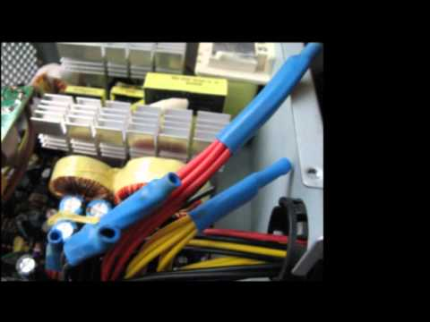 converting a computer power supply for lipo chargers