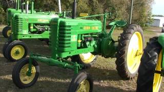 Antique John Deere Tractors Through 1960 In Detail Antique John Deere Tractors Antique John Deere