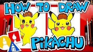 How To Draw Pokemon Detective Pikachu