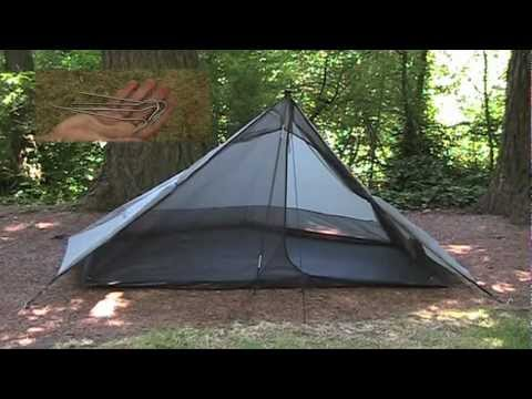 Only The Lightest. Ch 79: Ultralight Backpacking. Six Moon Designs Lunar Solo Tent Review