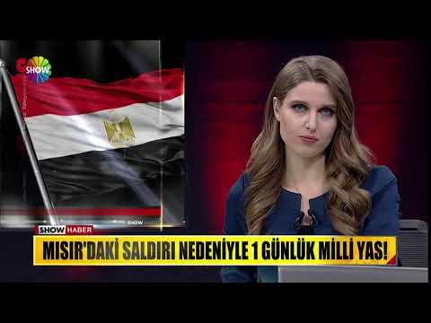 Mısır'daki saldırı nedeniyle 1 günlük milli yas!