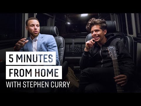 Rudy Mancuso & Stephen Curry Drop a New Track   5 Minutes from Home