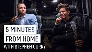 Rudy Mancuso & Stephen Curry Drop a New Track | 5 Minutes from Home