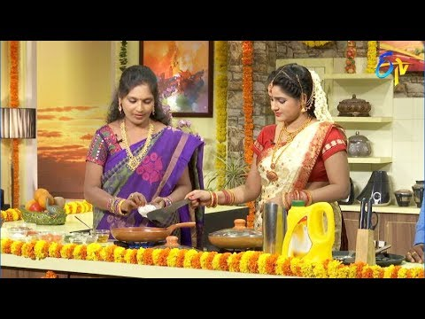 Telugu Ruchi | 17th August 2018 | Full Episode | ETV Telugu