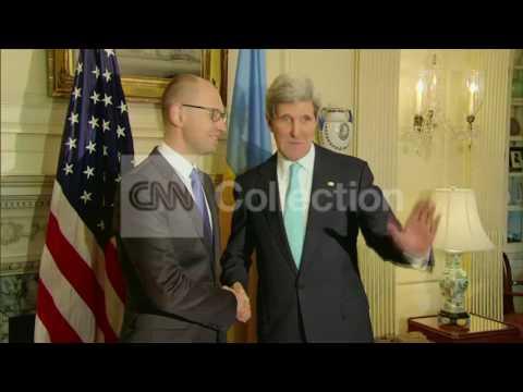 DC:KERRY MEETS W UKRAINE PRIME MINISTER