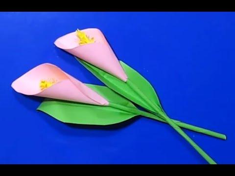 Цветы своими руками из бума