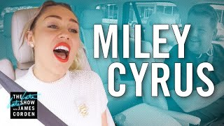 Download Lagu Miley Cyrus Carpool Karaoke Gratis STAFABAND