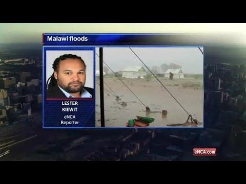 Floods ravage Malawi