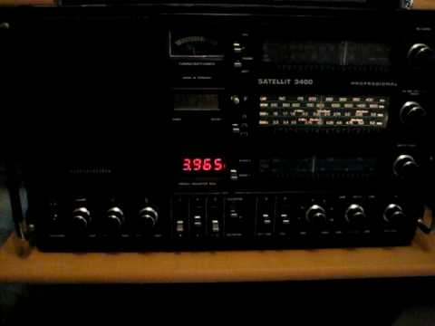 KBS World Radio German on Grundig Satellit 3400