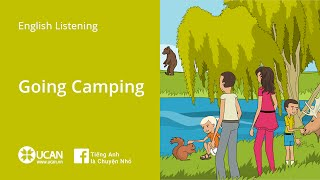 Learn English Via Listening | Beginner: Lesson 4. Going Camping