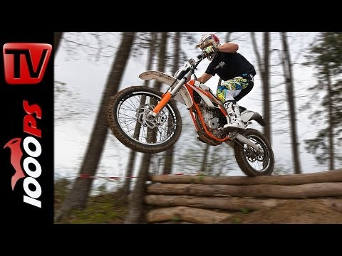 KTM Freeride 350 Offroad Action | First Test Ride