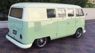 1966 Volkswagen BUS fully restored in FIAT COLORS At Celebrity Cars Las Vegas