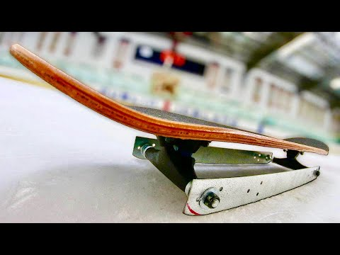 THE WORLD'S FIRST ICE SKATE BOARD | YOU MAKE IT WE SKATE IT EP. 258