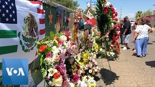 Flowers from Around the World Honor El Paso Shooting Victims