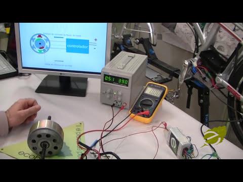 Mecánico de bicicletas eléctricas, el motor de alto rendimiento