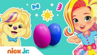 Sunny Day Surprise Eggs 🥚Who Will Pop Out? Ft. Sunny, Rox, Doodle & More! | Nick Jr.