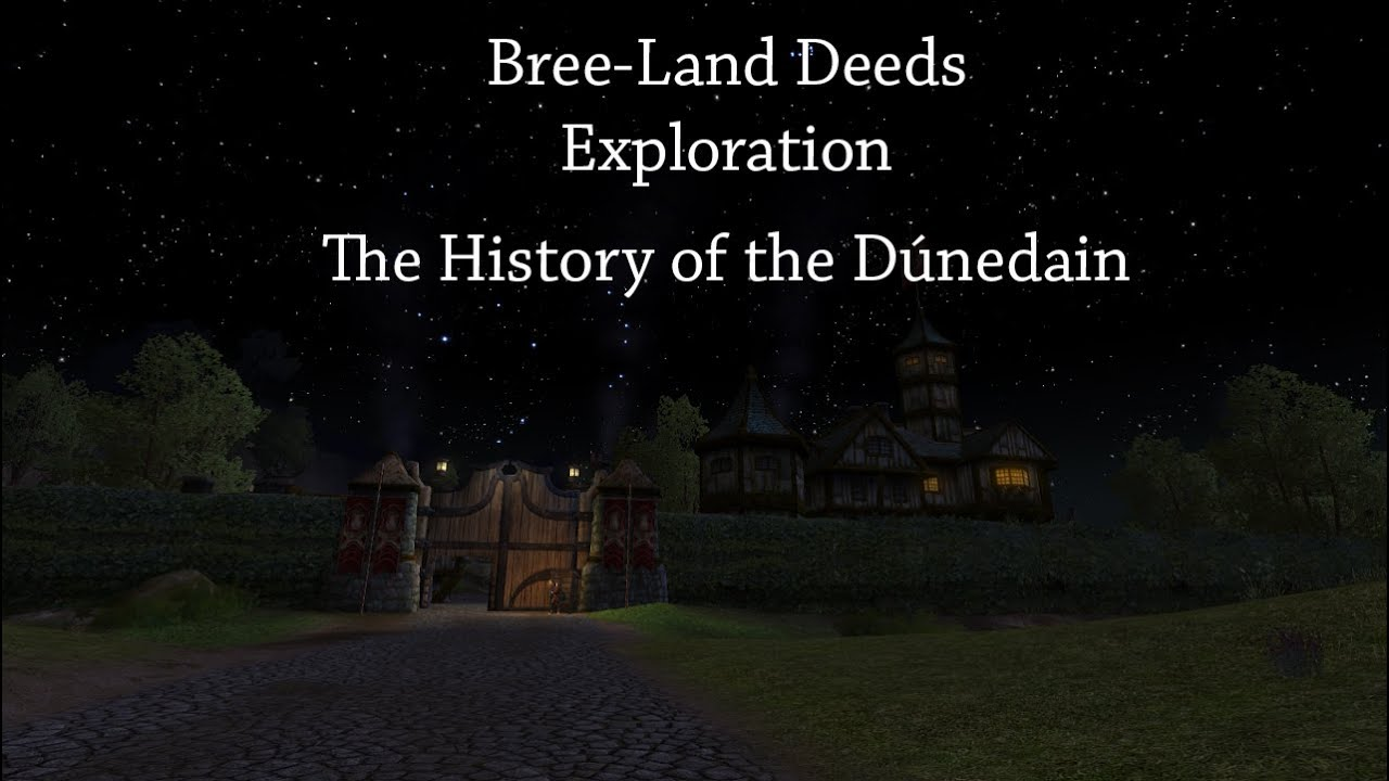 Land Deeds Lotro Bree-land Deeds