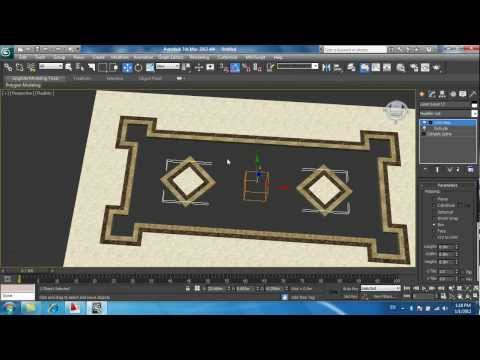 floor design cad and max 2-3