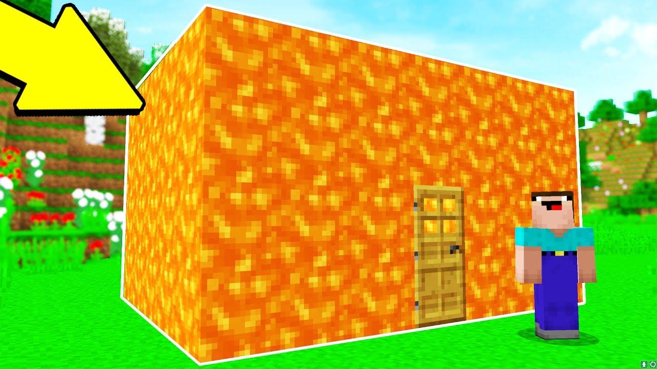 TURNING A HOUSE INTO LAVA PRANK.. (MINECRAFT TROLL WARS #4)