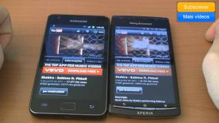 Samsung Galaxy S II vs Sony Ericsson Xperia Arc