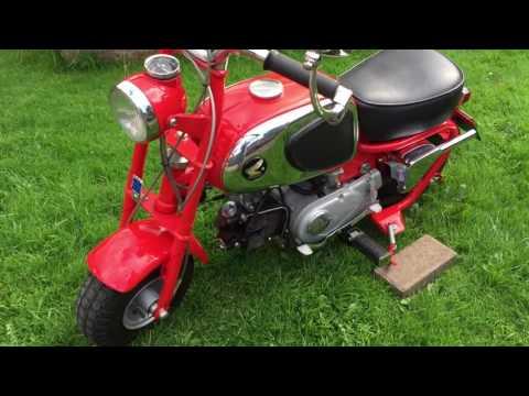 Honda cz100 1965