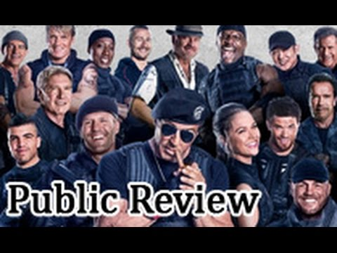 The Expendables 3 Public Review | Hollywood Movie | Sylvester Stallone, Jason Statham, Antonio