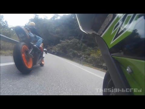 Kuala Klawang ride on-board Kawasaki Ninja ZX-10R